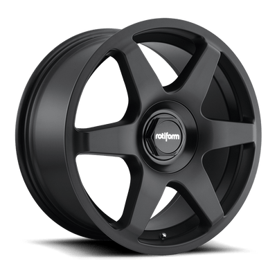 "Rotiform SIX Cast Wheel 18"" - Black - Lowered Lifestyle"
