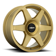 Rotiform SIX Cast Wheel - Gold