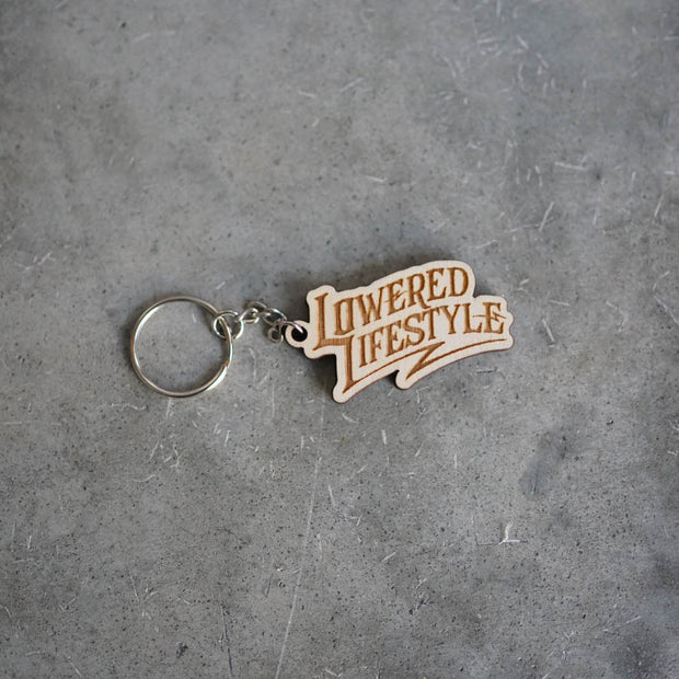 Wood Keychain - Signature Logo