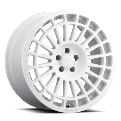 "Fifteen52 Integrale Cast Wheel 18"" - Rally White - Lowered Lifestyle"