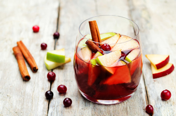 Fall Apple Sangria