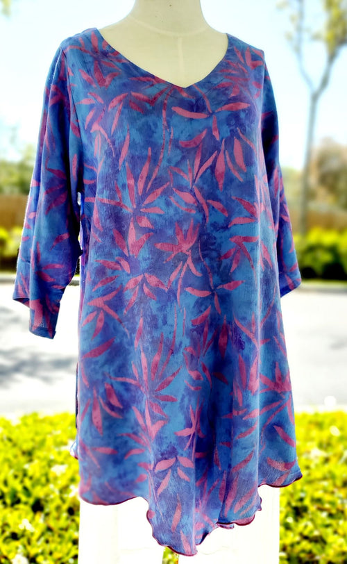Purple Haze 3/4 Sleeve V-Front