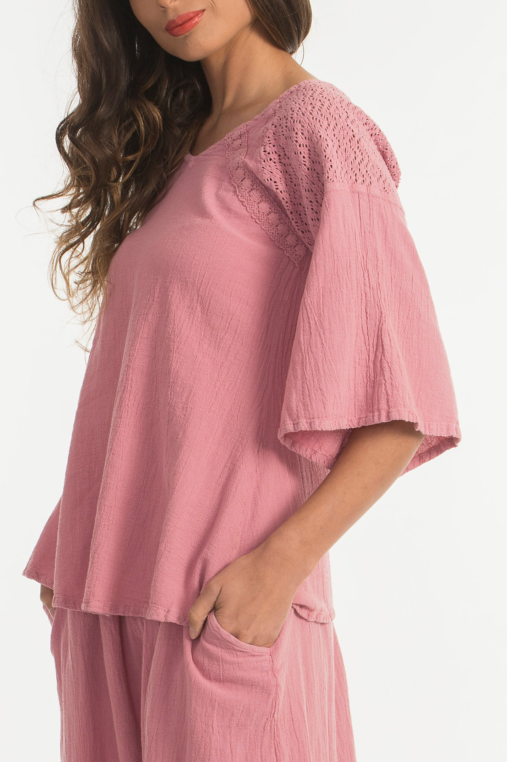 Abigail Top Flowy Cotton Favorite
