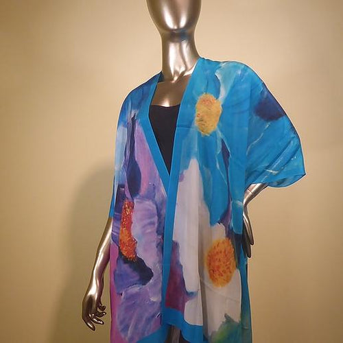 Silk Jacket - Flowers Without Borders