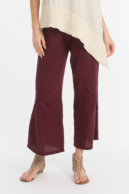 Tanner Pant - Sophisticated Fun, Darted Gauze Pant