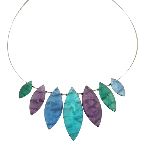 Fjord Tribal Leaf Necklace