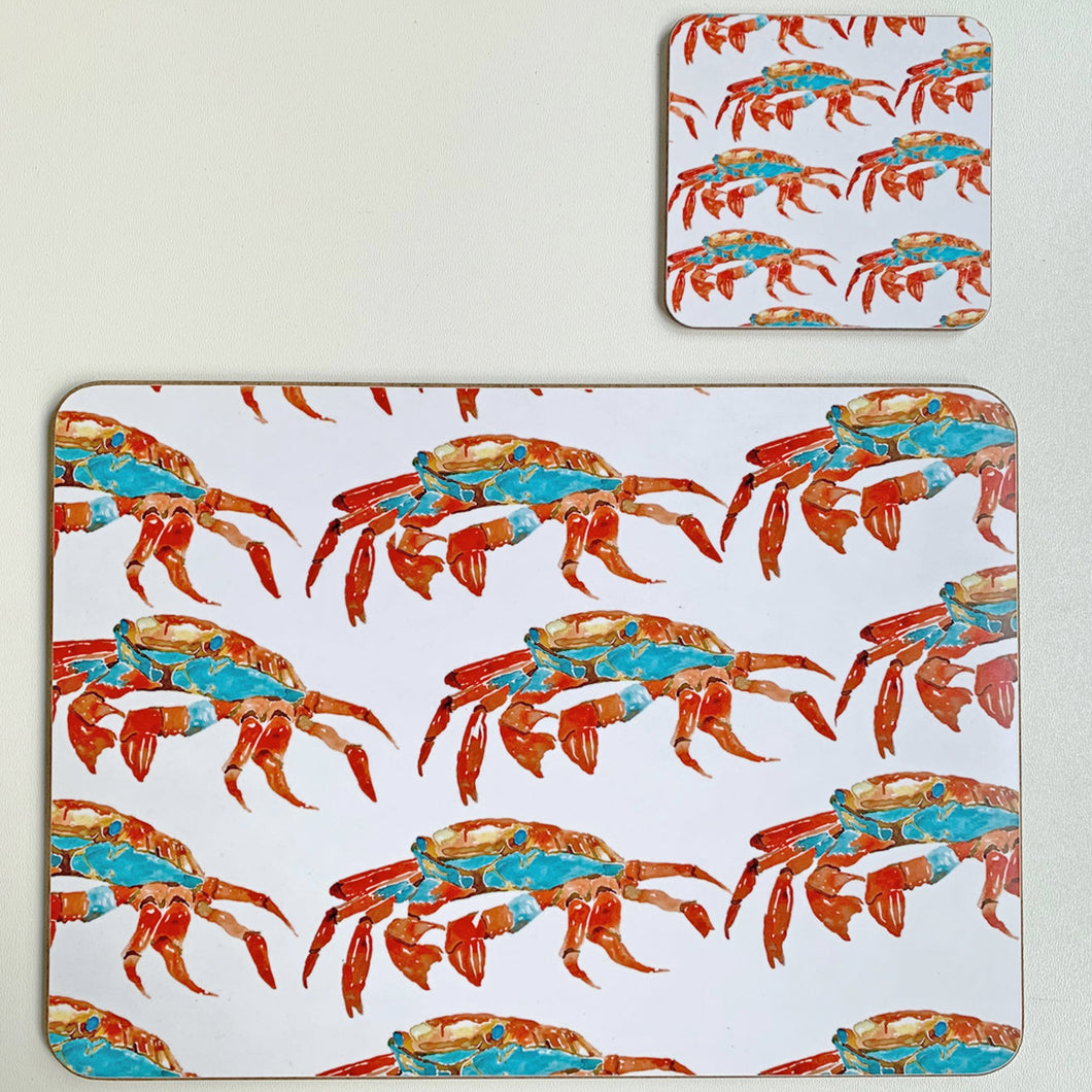Crab Design Placemats - single