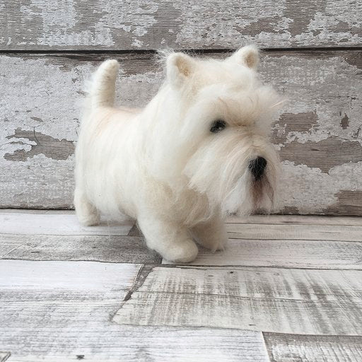 Hamish the West Highland Terrier
