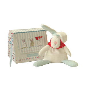 Rufus Rabbit Baby boy beanie and gift bag