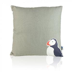 Puffin Square RSPB cushion