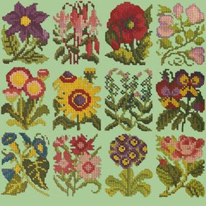 Cottage Garden - Tapestry by Elizabeth Bradley