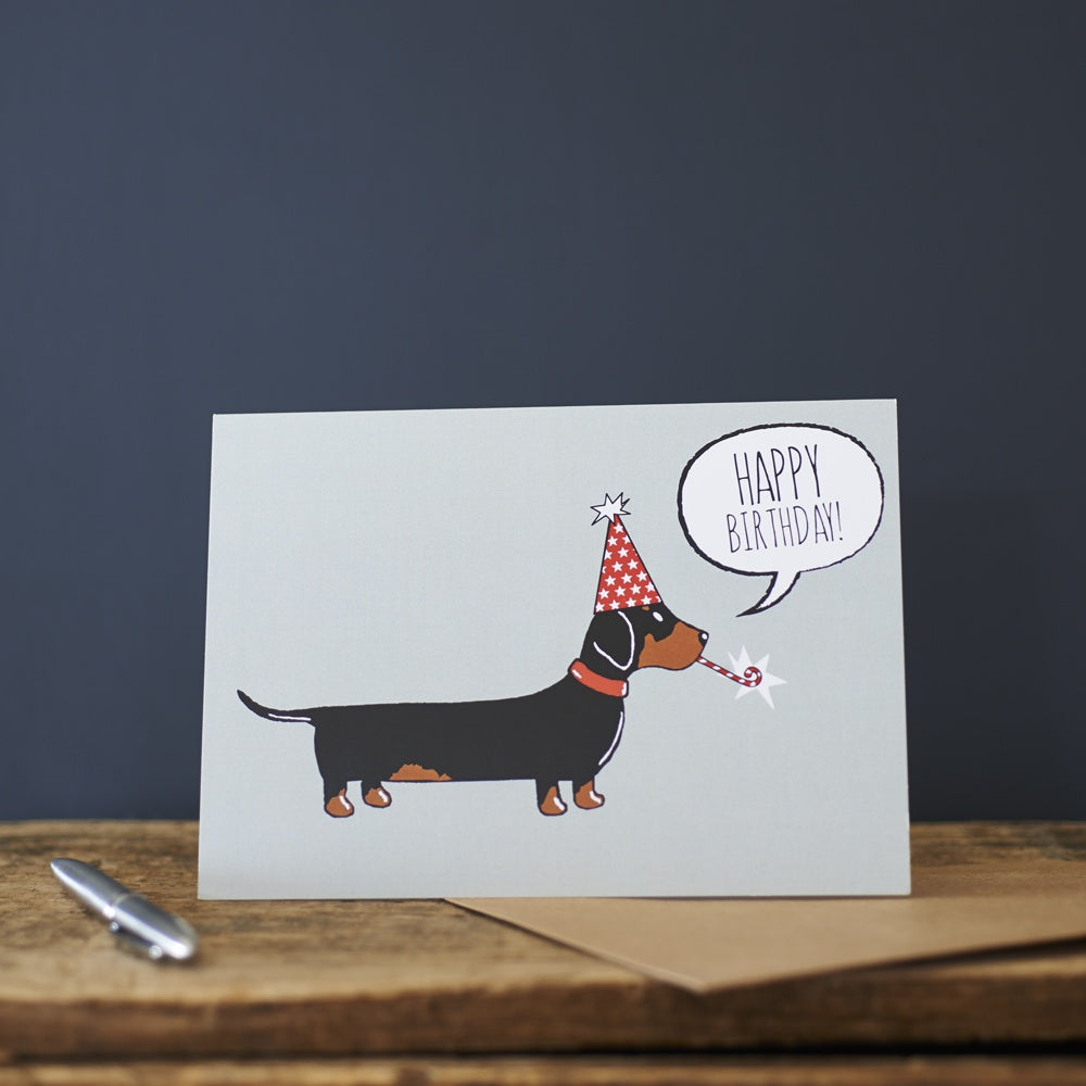 Dachshund  - Happy Birthday