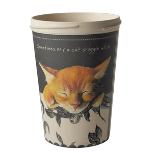 Bamboo Ginger Cat Travel Cup