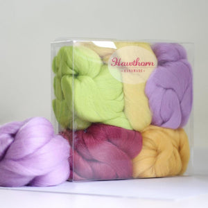 Spring Wool Felting Box