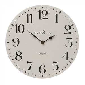 Light Grey Wall Clock - 29cm