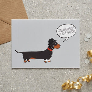 Dachshund new job card