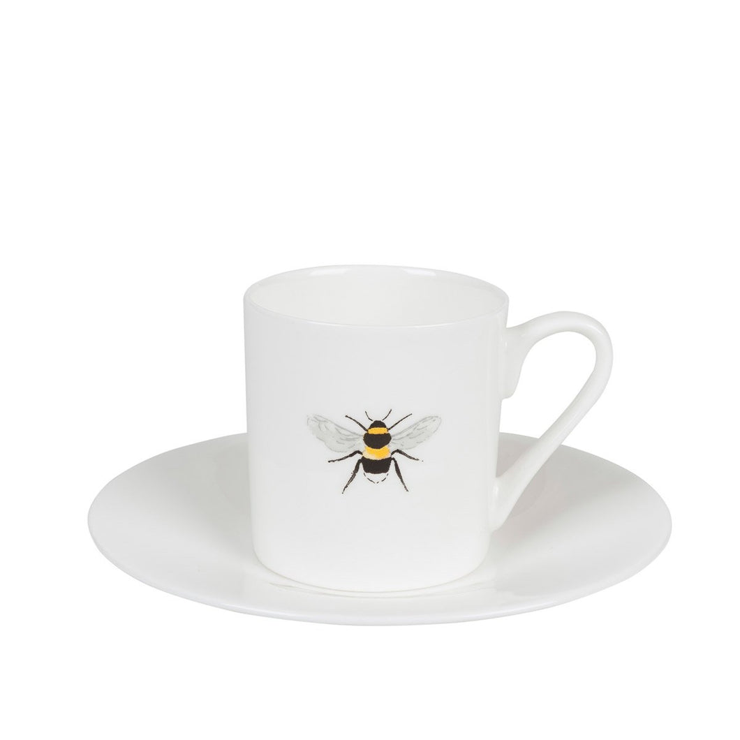 Bee Design Espresso Cup and Saucer