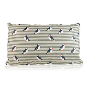 Puffin  RSPB cushion