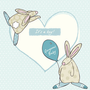 It's A Boy- Blue New Baby card