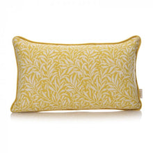 Load image into Gallery viewer, William Morris Ochre Yellow cushion