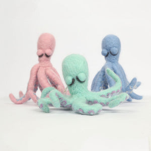 Octopus - Needle Felting Kit