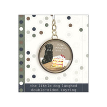 Load image into Gallery viewer, Black Labrador Keyring