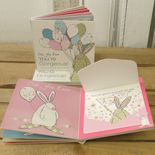 Load image into Gallery viewer, Rufus Rabbit Baby book your Gorgeous