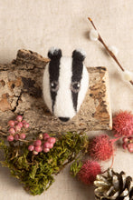 Load image into Gallery viewer, Badger felting kit - small