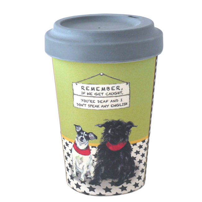 Bamboo Terriers Travel Cup