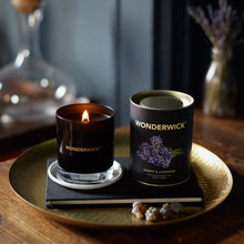 Load image into Gallery viewer, Wonderwick Candle Amber &  Lavender