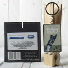 Load image into Gallery viewer, Greyhound key ring