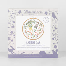 Load image into Gallery viewer, Contemporary Embroidery Kit - Ancient Oak