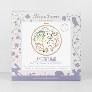 Contemporary Embroidery Kit - Ancient Oak