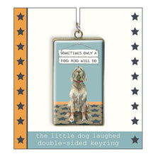 Load image into Gallery viewer, Wirehaired Vizsla Keyring