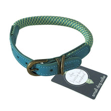 Load image into Gallery viewer, Quality Green Dog Collar by The Little dog Laughed Co