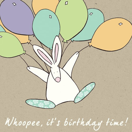 Whoopee, it's birthday time - Children's card