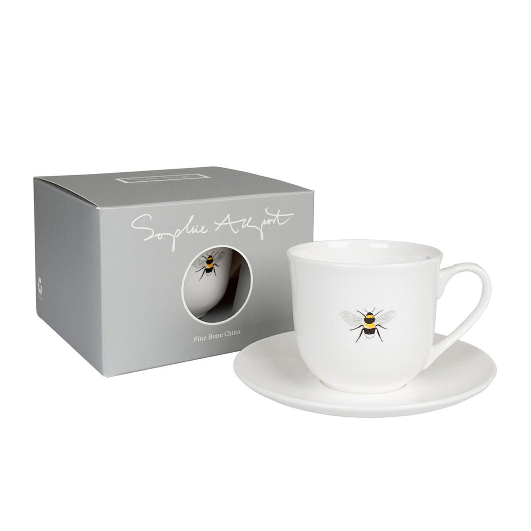 Sophie Allport Bee Design China Cup and Saucer
