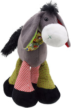Load image into Gallery viewer, Snuggle Standing Donkey soft toy