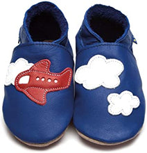 Load image into Gallery viewer, Aeroplane and Clouds   - Handmade Leather Shoes