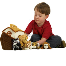 Load image into Gallery viewer, Noahs Ark with finger puppets