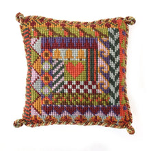 Load image into Gallery viewer, Log Cabin Tapestry by Elizabeth Bradley