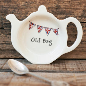 Old Bag  Tea bag dish