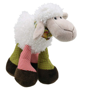 Snuggle Standing Sheep soft toy