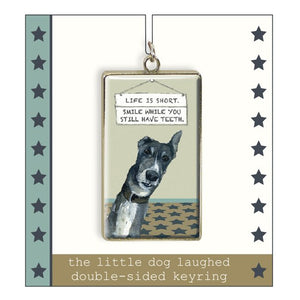 Greyhound key ring