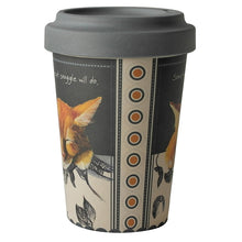 Load image into Gallery viewer, Bamboo Ginger Cat Travel Cup