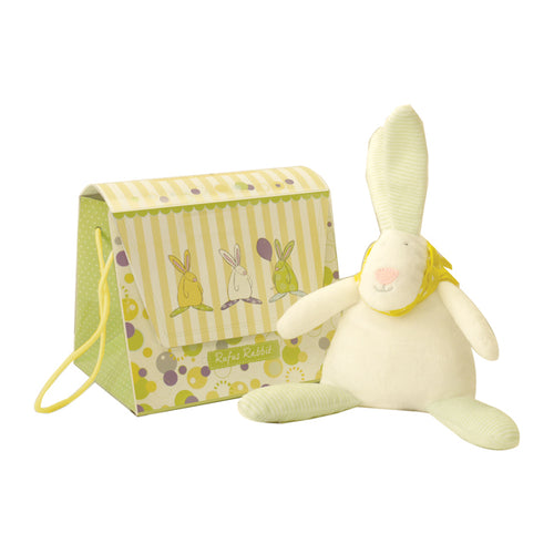 Rufus Rabbit Baby beanie and gift bag