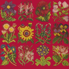 Load image into Gallery viewer, Cottage Garden - Tapestry by Elizabeth Bradley