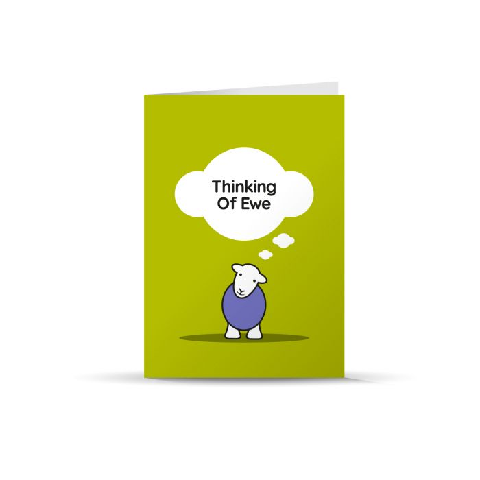 Thinking of You -Herdy card
