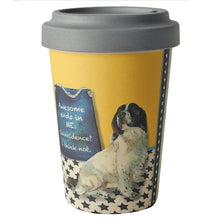 Load image into Gallery viewer, Bamboo Springer Spaniel Travel Cup