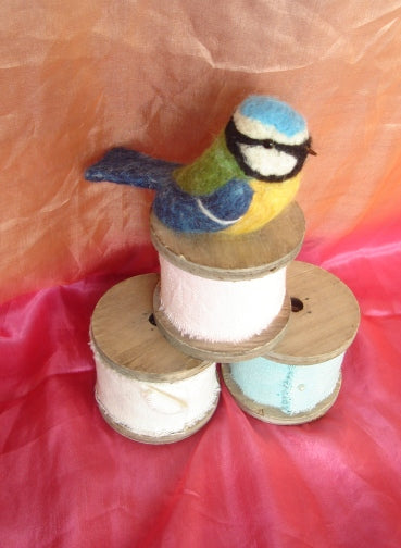 Blue tit - Needle Felting kit